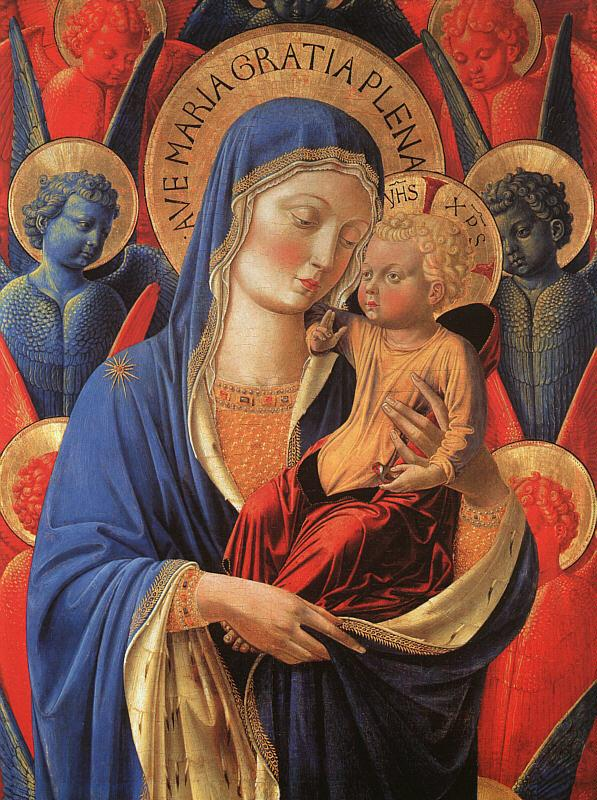 Benozzo Gozzoli Madonna and Child   44 oil painting image