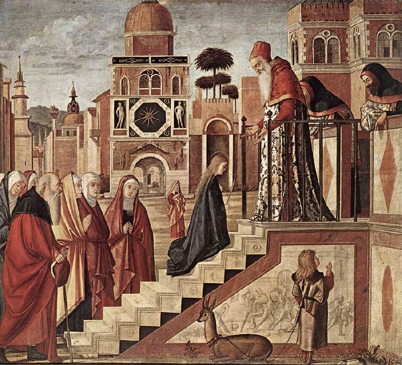 CARPACCIO, Vittore The Presentation of the Virgin fdg Sweden oil painting art