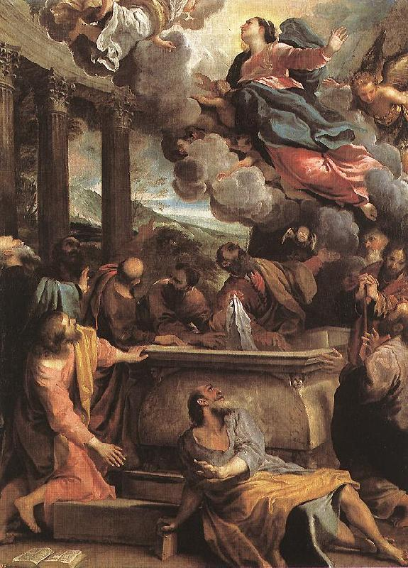 CARRACCI, Annibale Assumption of the Virgin sdf Sweden oil painting art