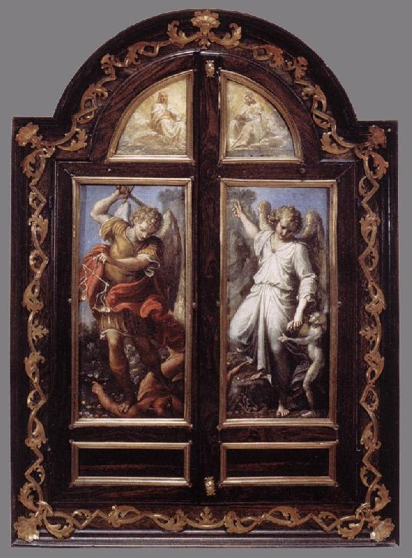 CARRACCI, Annibale Triptych dsf Sweden oil painting art