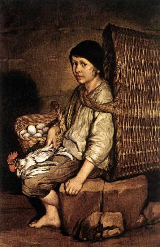 CERUTI, Giacomo Boy with a Basket oil painting image