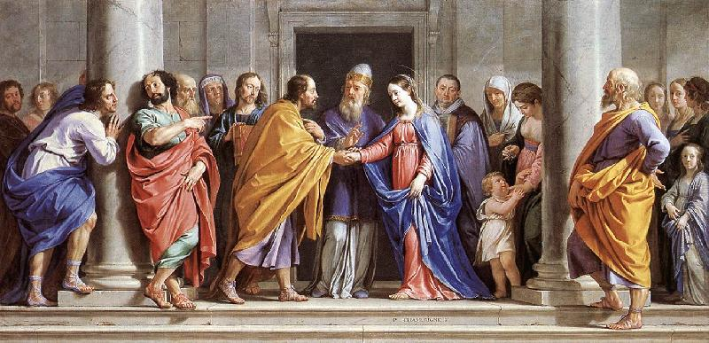 Philippe de Champaigne The Marriage of the Virgin Sweden oil painting art