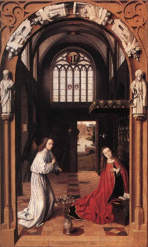 CHRISTUS, Petrus Annunciation jkhj Sweden oil painting art