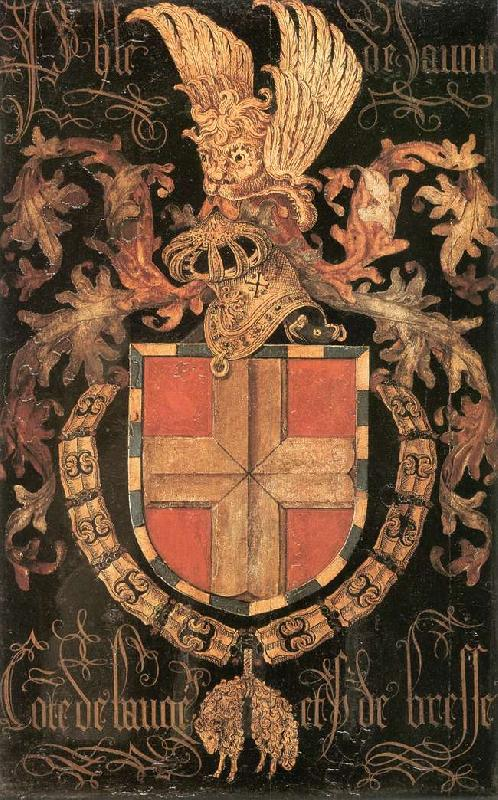 COUSTENS, Pieter Coat-of-Arms of Philip of Savoy dg oil painting image