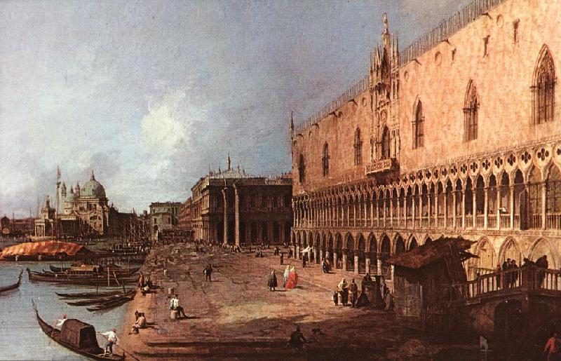 Canaletto Doge Palace d Sweden oil painting art