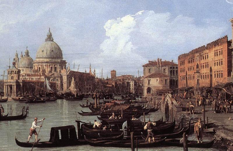 Canaletto The Molo: Looking West (detail) dg Sweden oil painting art