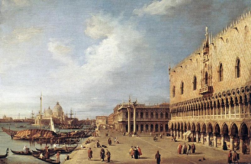Canaletto View of the Ducal Palace f Sweden oil painting art