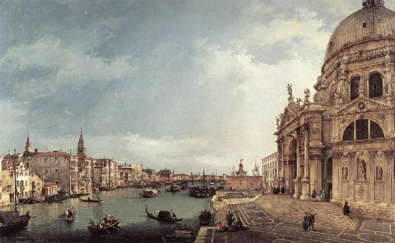Canaletto Entrance to the Grand Canal: Looking East f Sweden oil painting art