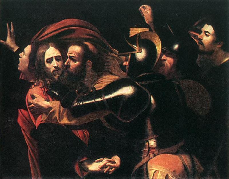 Caravaggio The Taking of Christ  dssd Sweden oil painting art