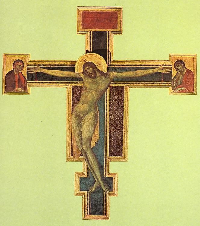Cimabue Crucifix dfdhhj Sweden oil painting art