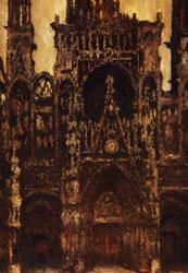 Claude Monet Rouen Cathedral oil painting image