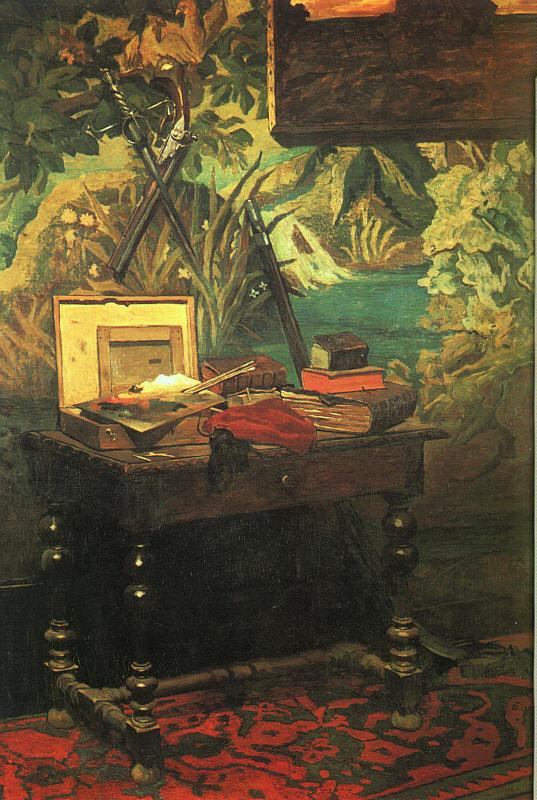 Claude Monet A Corner of the Studio oil painting image