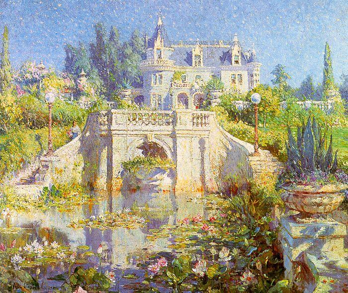 Colin Campbell Cooper A California Water Garden at Redlands Sweden oil painting art
