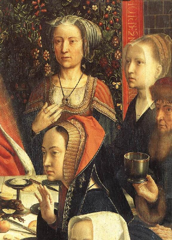 DAVID, Gerard The Marriage at Cana (detail) dsg Sweden oil painting art