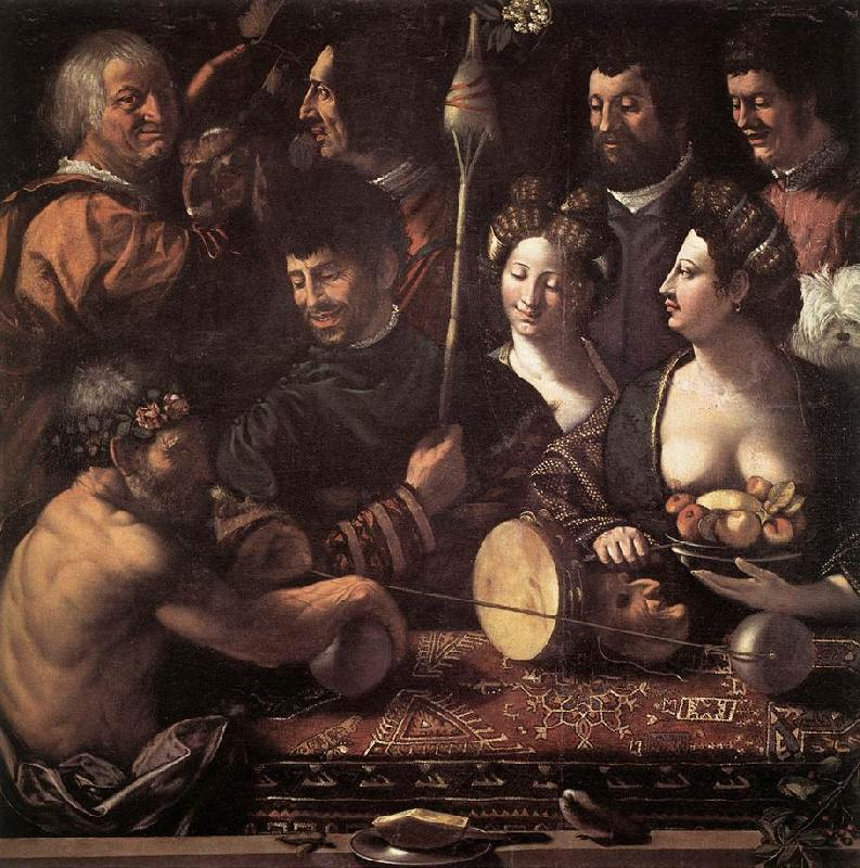 DOSSI, Dosso Witchcraft (Allegory of Hercules) dfg oil painting image