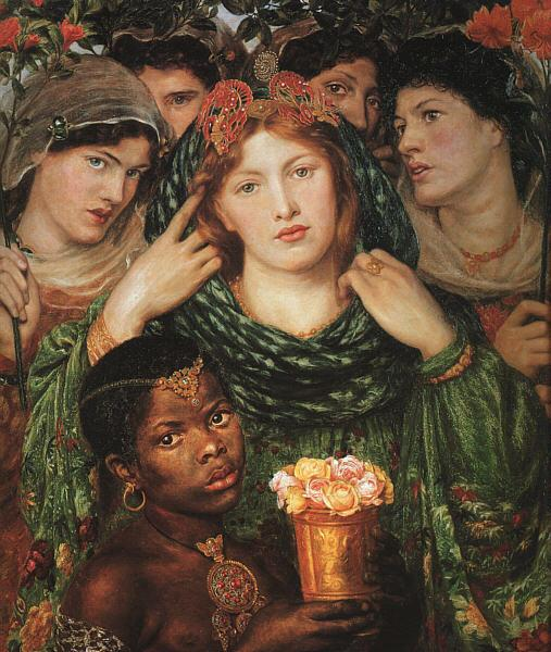 Dante Gabriel Rossetti The Beloved Sweden oil painting art