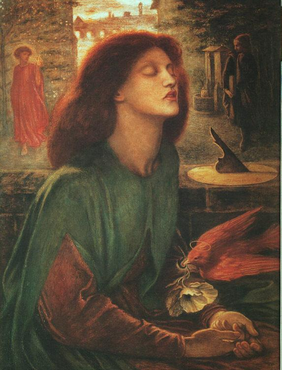 Dante Gabriel Rossetti Beata Beatrix Sweden oil painting art