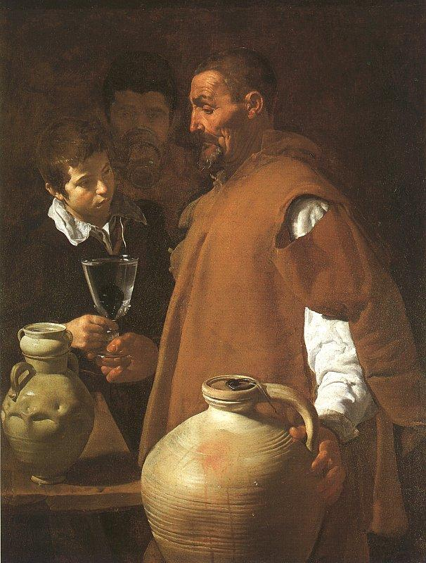 Diego Velazquez The Waterseller of Seville oil painting image
