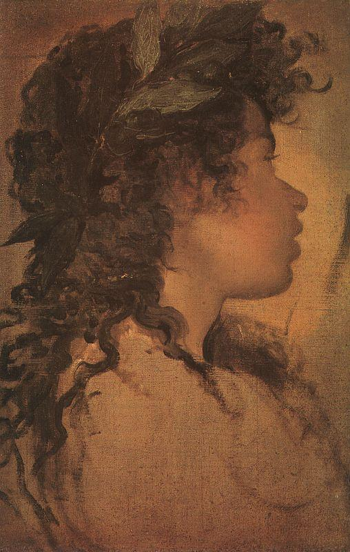 Diego Velazquez Study for the Head of Apollo oil painting image