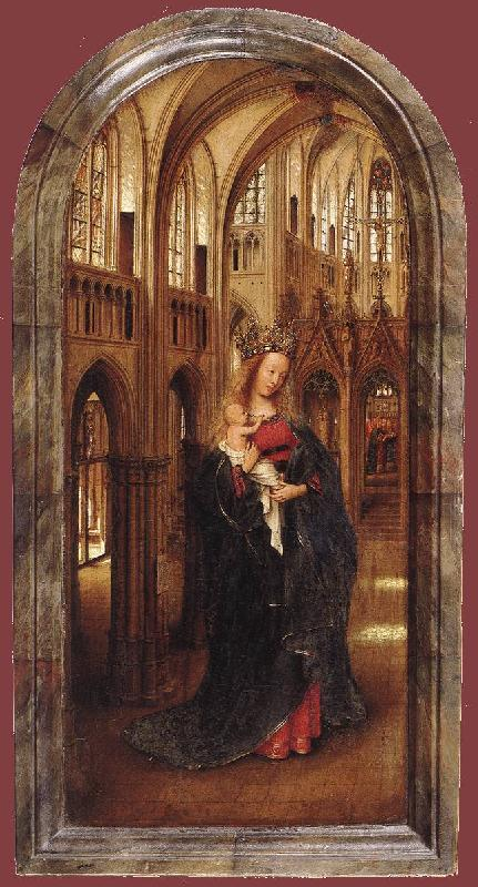 EYCK, Jan van Madonna in the Church dfh oil painting image