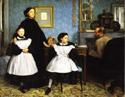 Edgar Degas Family Portrait(or the Bellelli Family) oil painting image