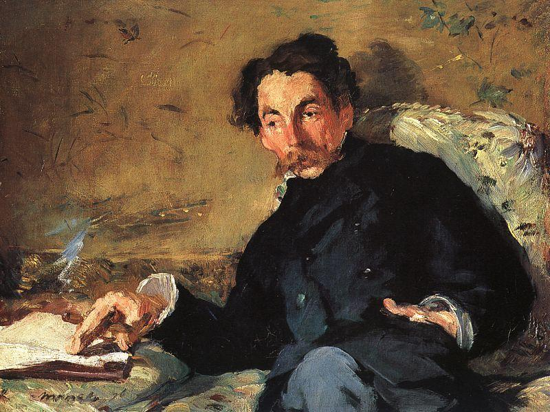 Edouard Manet Portrait of Stephane Mallarme oil painting picture