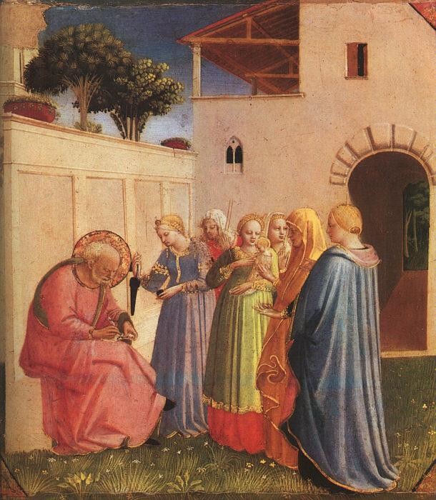 Fra Angelico The Naming of John the Baptist oil painting picture