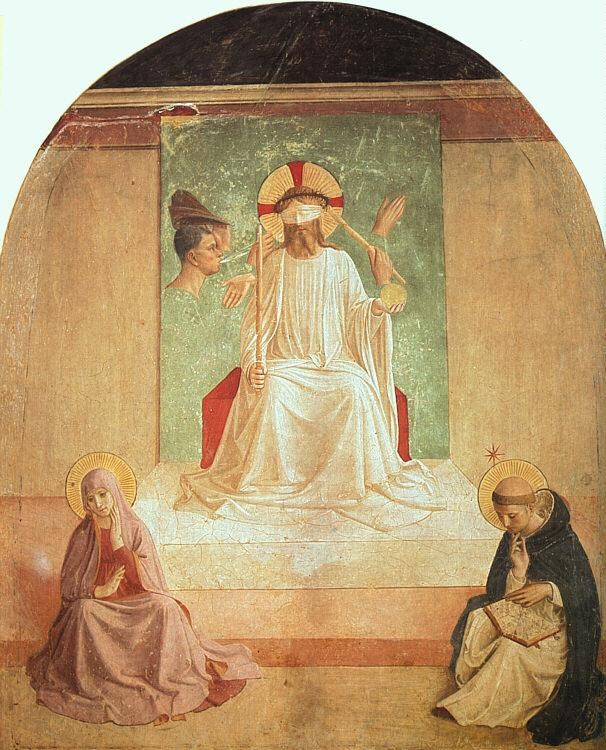 Fra Angelico The Mocking of Christ oil painting picture