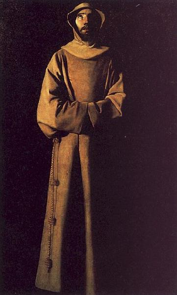 Francisco de Zurbaran Saint Francis of Assisi oil painting picture