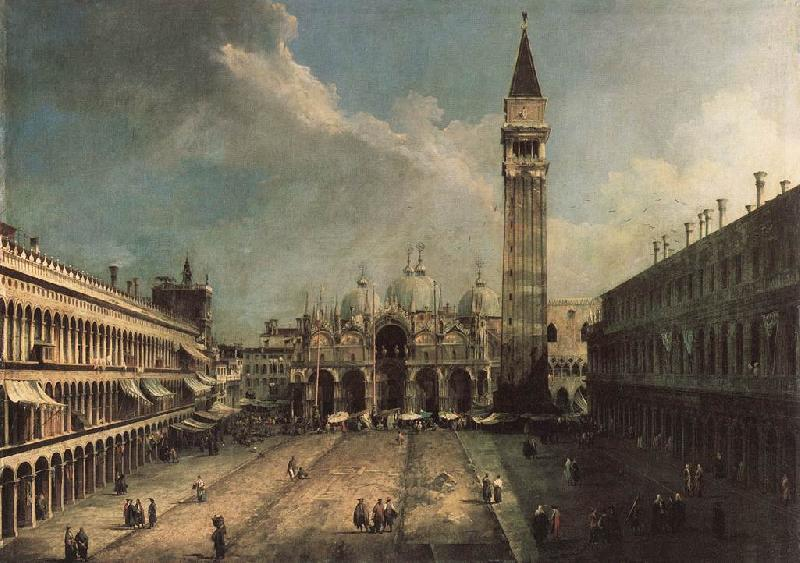 Frank Buscher Piazza San Marco ghj oil painting image