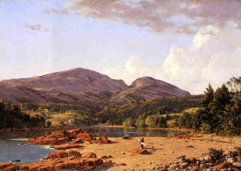 Frederic Edwin Church Otter Creek, Mount Desert oil painting image