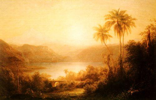 Frederick Edwin Church Sierra Nevada de Santa Marta oil painting picture