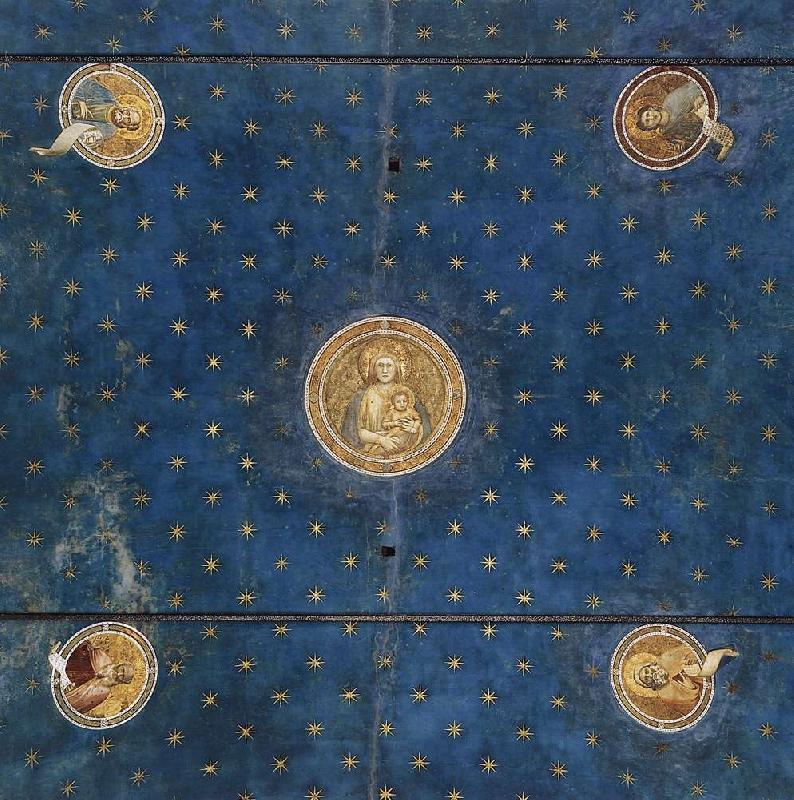 GIOTTO di Bondone Vault fgt oil painting image