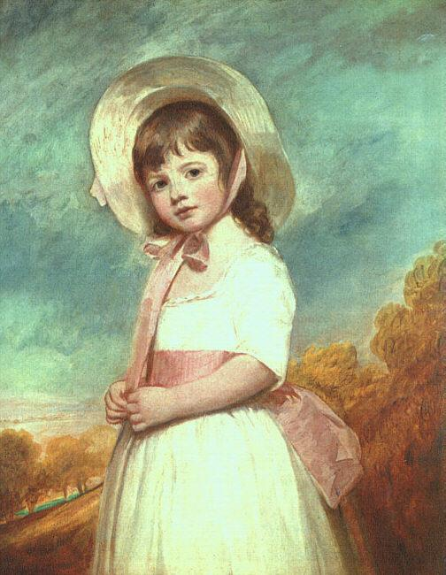 George Romney Miss Willoughby Sweden oil painting art