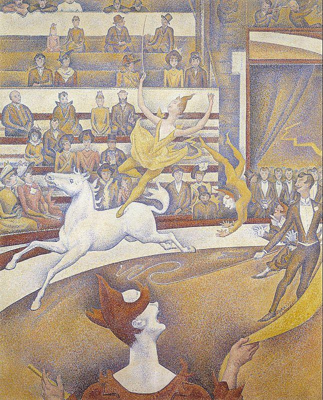 Georges Seurat The Circus Sweden oil painting art