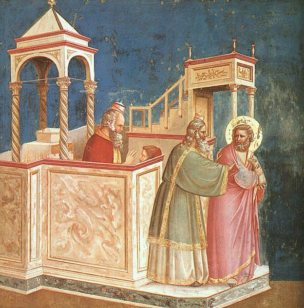 Giotto Scenes from the Life of Joachim  1 oil painting image