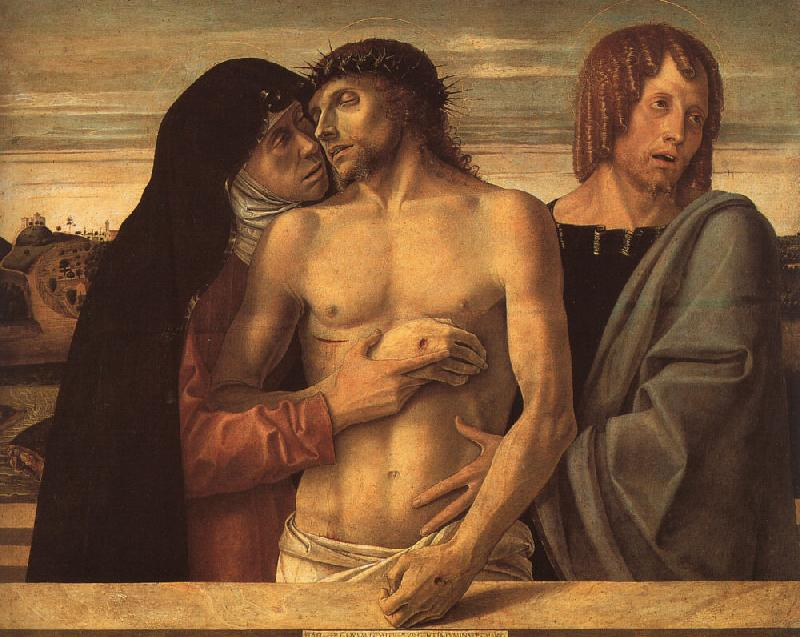 Giovanni Bellini Pieta oil painting image