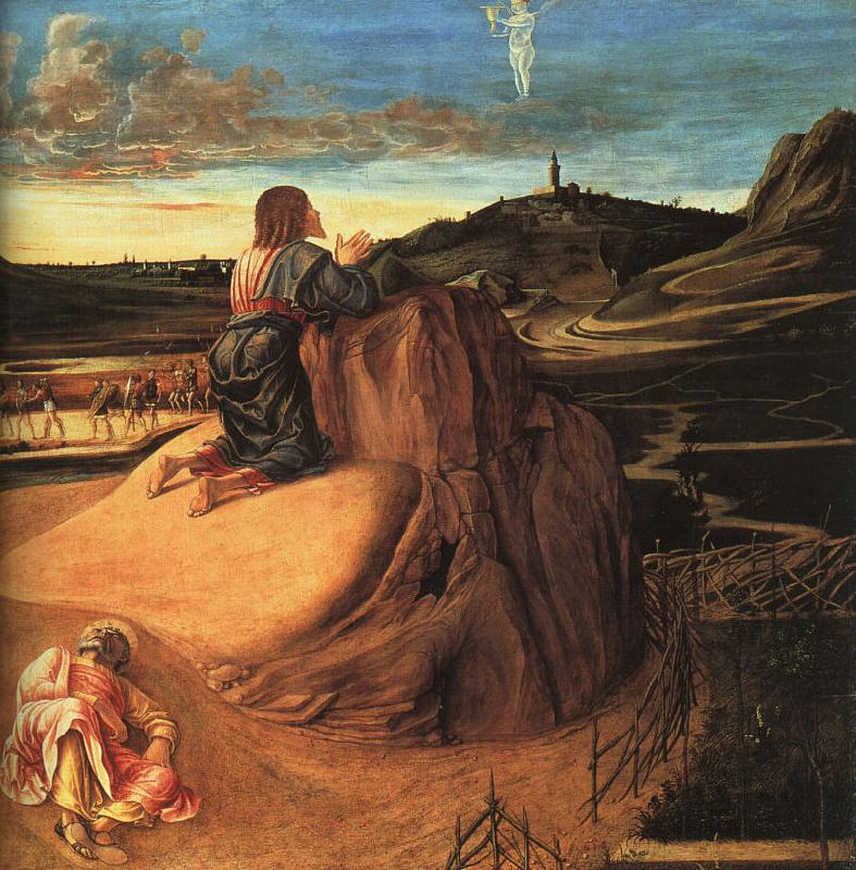 Giovanni Bellini Agony in the Garden oil painting image