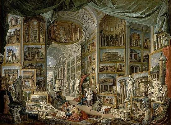 Giovanni Paolo Pannini Views of Ancient Rome oil painting image