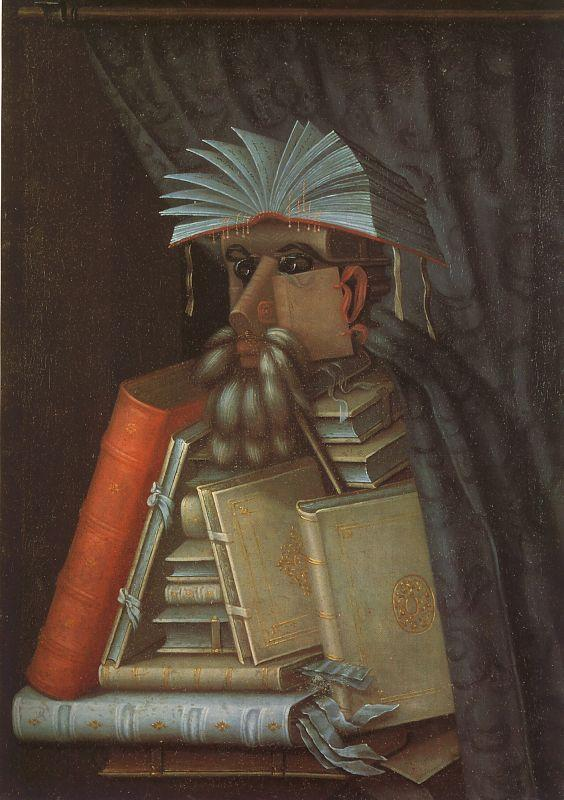 Giuseppe Arcimboldo The Librarian Sweden oil painting art