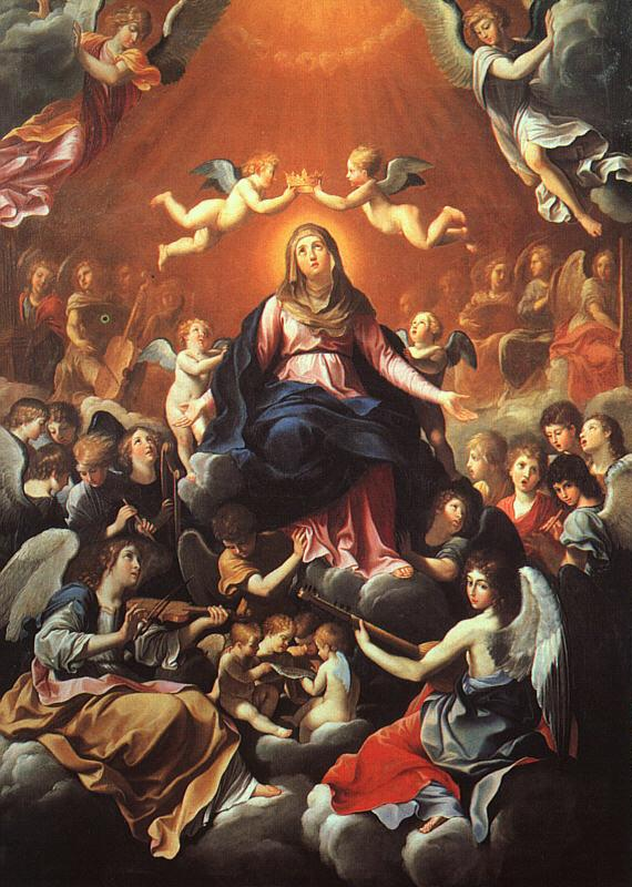 Guido Reni The Coronation of the Virgin Sweden oil painting art