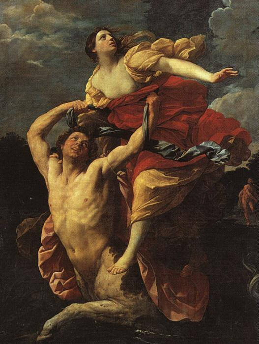 Guido Reni Deianeira Abducted by the Centaur Nessus Sweden oil painting art