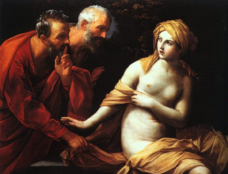 Guido Reni Susannah and the Elders Sweden oil painting art