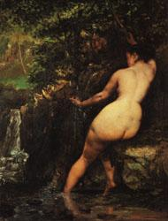 Gustave Courbet The Source oil painting image