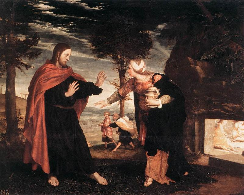 HOLBEIN, Hans the Younger Noli me Tangere f oil painting picture