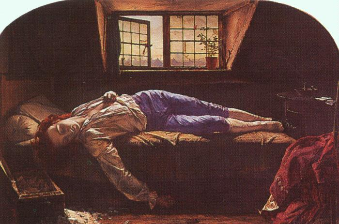 Henry Wallis The Death of Chatterton oil painting image