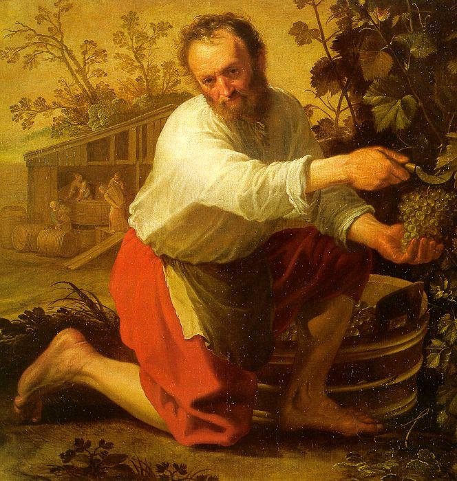 Jacob Gerritsz Cuyp The Grape Grower Sweden oil painting art