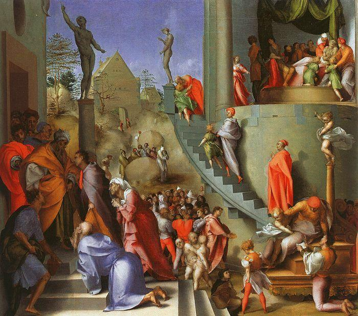 Jacopo Pontormo Joseph in Egypt oil painting image