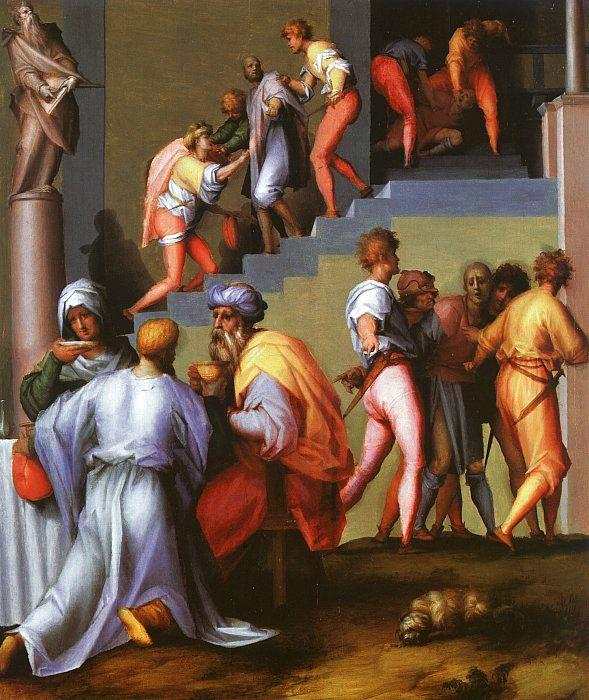 Jacopo Pontormo Punishment of the Baker oil painting image