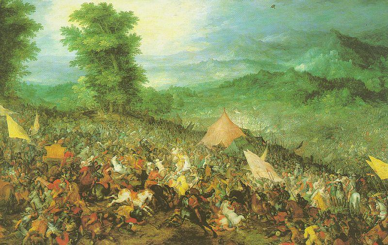 Jan Brueghel The Battle of Issus oil painting image